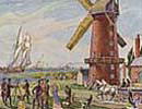 Windmill Line: Then & Now (1830s & 2000s)
